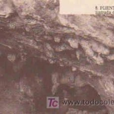 Postales: POSTAL DE PUENTE VIESGO Nº8, ENTRADA A LA CUEVA. Lote 7913465