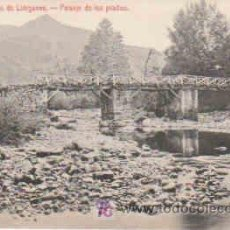 Postales: POSTAL DEL BALNEARIO DE LIERGANES Nº13, PASAJE DE LOS PRADOS. Lote 7913506