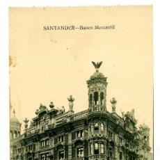 Postales: SANTANDER - BANCO MERCANTIL- ED. V. POBLADOR (NUEVA SIN USAR). Lote 23136620