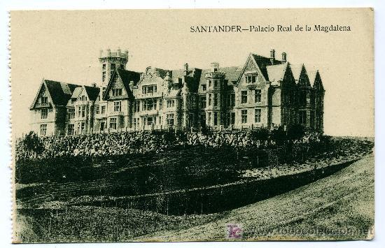 SANTANDER - PALACIO REAL DE LA MAGDALENA- ED. V. POBLADOR (NUEVA SIN USAR) (Postales - España - Cantabria Antigua (hasta 1.939))