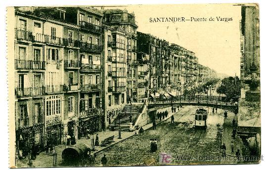 SANTANDER - PUENTE DE VARGAS- ED. V. POBLADOR (NUEVA SIN USAR) (Postales - España - Cantabria Antigua (hasta 1.939))