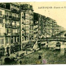 Postales: SANTANDER - PUENTE DE VARGAS- ED. V. POBLADOR (NUEVA SIN USAR). Lote 26274452