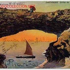 Cartes Postales: SANTANDER. ORILLAS DE CABO MAYOR. Lote 1204675