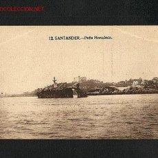Postales: POSTAL DE SANTANDER (CANTABRIA): PEÑA HORADADA (ED.LA IDEAL NUM.33). Lote 2247010