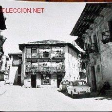 Postales: ANTIGUA FOTO POSTAL DE SANTILLANA DEL MAR (CANTABRIA) - ARRIBAS - SIN CIRCULAR. Lote 2421766