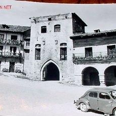 Postales: ANTIGUA FOTO POSTAL DE SANTILLANA DEL MAR (CANTABRIA) - ARRIBAS - SIN CIRCULAR. Lote 2421773