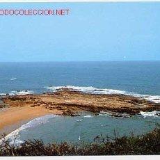 Postales: PECHON, SANTANDER. PLAYA DE AMIO , EL CASTRIL.. Lote 2657628