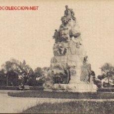 Postales: TARJETA POSTAL DE SANTANDER. ESTATUA DE PEREDA.. Lote 4382922