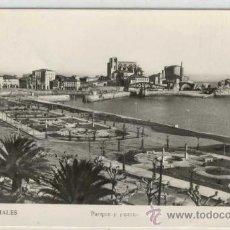 Postales: (PS-8106)POSTAL DE CASTRO URDIALES(SANTANDER)-PARQUE Y PUERTO. Lote 10499439