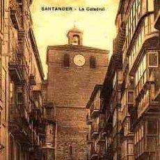 Postales: POSTAL DE SANTANDER LA CATEDRAL. Lote 11000679