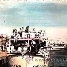 Postales: POSTAL DE SANTANDER EXCURSION TURISTICA POR LA BAHIA COLOREADA. Lote 11000840
