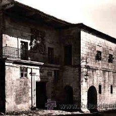 Postales: POSTAL DE SANTANDER SANTILLANA Nº 14 CASA DE LOS COSSIO Y QUEVEDO. Lote 11110820
