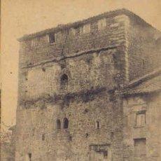 Postales: TARJETA POSTAL DE SANTILLANA ( SANTANDER). TORRE DEL MERINO. ( SIGLO XI).. Lote 11345937