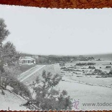 Postales: ANTIGUA FOTO POSTAL DE NOJA - CANTABRIA - PUNTA GARGANTA - NO CIRCULADA.. Lote 11595865