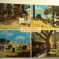 Postales: SAN VICENTE DE LA BARQUERA, SANTANDER. Lote 11610553