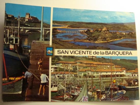 SAN VICENTE DE LA BARQUERA, CANTABRIA, DIVERSOS ASPECTOS (Postales - España - Cantabria Moderna (desde 1.940))