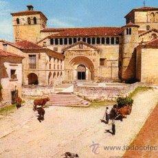 Postales: Nº 3059 POSTAL SANTILLANA DEL MAR LA GOLEGIATA CANTABRIA. Lote 12045888