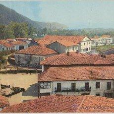 Postales: TARJETA POSTAL DE CABEZON DE LA SAL PLAZA DE LOS CAIDOS Y AVENIDA CANTABRIA CRUZ DE LOS CAIDOS. Lote 26708042