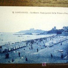 Postales: POSTAL ANTIGUA CANTABRIA SANTANDER. SARDINERO. VISTA PRIMERA PLAYA Nº32. . Lote 25991376