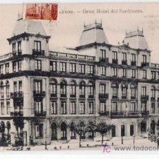 Postales: TARJETA POSTAL DE SANTANDER. GRAN HOTEL EL SARDINERO. ED. JULIO PALACIOS. Lote 13892595