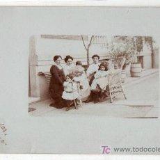 Postales: TARJETA POSTAL FOTOGRAFICA DE SANTANDER, CANTABRIA. FOTOGRAFIA DE LA FAMILIA PEDRAZA. Lote 17152124