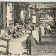 Postales: (PS-13934)POSTAL DE SANTANDER-HOTEL VDA.DE REDON.COMEDOR. Lote 15957868