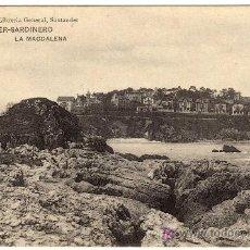 Postales: BONITA POSTAL - SANTANDER - SARDINERO - LA MAGDALENA (PROPIEDAD DE LA LIBRERIA GENERAL-SANTANDER). Lote 16031373