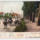 Postales: TARJETA POSTAL DE SANTANDER. REGRESANDO DEL MERCADO. PURGER & CO. MUNCHEN PHOTOCHROMIEKARTE 3672. Lote 16878229