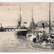 Postales: TARJETA POSTAL DE SANTANDER. MUELLE DE MAURA. ROMMIER & JONAS, DRESDE. 16706 A. 42. Lote 16879588