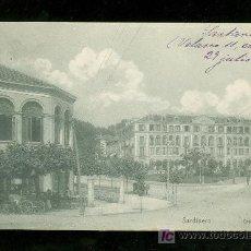 Postales: TARJETA POSTAL ANTIGUA DE SARDINERO. GRAN HOTEL.. Lote 17231280