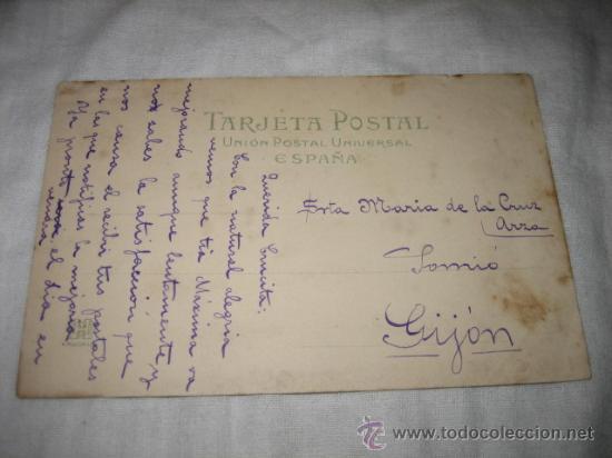 Postales: SANTANDER PLAZA DE VELARDE 285 HAUSER Y MENET UNION POSTAL UNIVERSAL - Foto 2 - 18493568