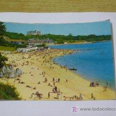 Postales: **PRECIOSA POSTAL,--SANTANDER--(PLAYA DE LA MAGDALENA)**. Lote 18059042