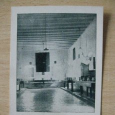 Postales: POSTAL RELIGIOSAS CONCEPCIONISTAS DE AGREDA. REFECTORIO DE LA COMUNIDAD. AÑOS 50.. Lote 18532380