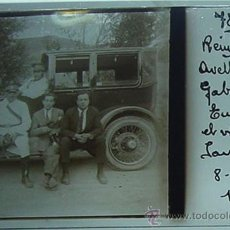 Postales: ANTIGUA FOTOGRAFIA ESTEREOSCOPICA DE CRISTAL, POSITIVO - REINOSA, VIAJE EN COCHE CAMINO DE SANTANDER. Lote 20855645