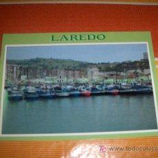 Postales: POSTAL DE LAREDO (SANTANDER). PUERTO ATARDECER. EDICIONES ARRIBAS 1980. SIN CIRCULAR. Lote 19151828