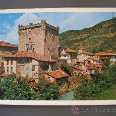 Postales: POSTAL DE PICOS DE EUROPA - 94 - POTES, TORRE DEL DUQUE DEL INFANTADO (SIN CIRCULAR). Lote 19573189