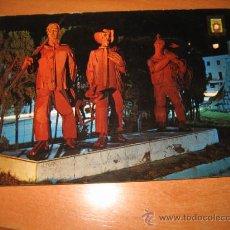 Postales: Nº 17 LAREDO (SANTANDER) MONUMENTO AL PESCADOR NOCTURNA ED.DOMINGUEZ. Lote 20508448