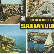 Postales: RECUERDO DE SANTANDER. VEA MAS POSTALES EN RASTRILLOPORTOBELLO. Lote 23371685
