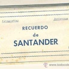Postales: ACORDEÓN 10 SANTANDER .. EDICIONES DOMINGUEZ. Lote 22215452