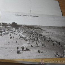 Postales: SANTANDER CANTABRIA - SARDINERO PRIMERA PLAYA - EDI VILCHES S/C - APROX 1923 PERFECTA . Lote 22841122