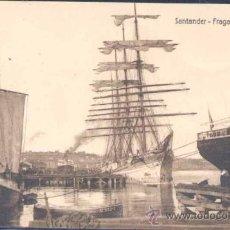 Postales: SANTANDER (CANTABRIA).- FRAGATA M. WINNEN. Lote 23124142