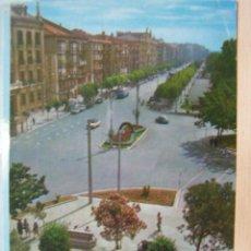 Postales: SANTANDER CANTABRIA AÑOS 60 TROLEBUS. Lote 23491162