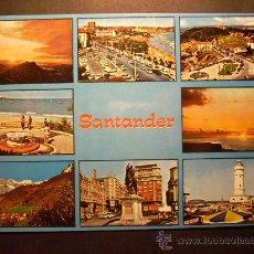 Postales: 8523 ESPAÑA SPAIN ESPAGNE CANTABRIA SANTANDER POSTCARD AÑOS 60/70 - TENGO MAS POSTALES. Lote 23923434