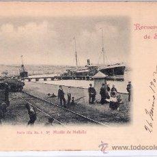 Postales: SANTANDER- MUELLE DE MALIAÑO -SERIE 3-Nº7-DUOMARCO-CIRCULADA 1902-( 5097). Lote 24298083