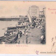 Postales: SANTANDER- VUELTA DE LA PESCA -SERIE 3-Nº8-DUOMARCO-CIRCULADA 1902-( 5098). Lote 24298231