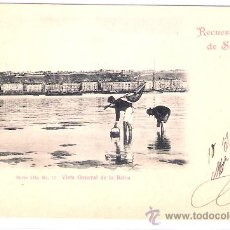 Postales: SANTANDER- VISTA GENERAL DE LA BAHIA -SERIE 3-Nº12 -DUOMARCO-CIRCULADA 1902-( 5101). Lote 24298351