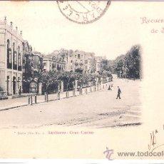 Postales: SANTANDER- SARDINERO : GRAN CASINO -SERIE 4-Nº3-DUOMARCO-CIRCULADA 1902-( 5104). Lote 24298450