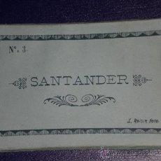 Postales: SANTANDER: 10 POSTALES PLEGADAS, CONTENIDAS EN CARPETILLA Nº 3. FOTO L. ROISIN.. Lote 24554114