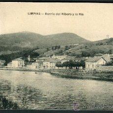 Postales: LIMPIAS. BARRIO DEL RIBERO Y LA RIA.. Lote 26475380