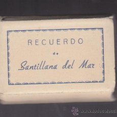 Postales: SANTILLANA DEL MAR - LIBRITO DE 20 POSTALES EN BLANCO Y NEGRO DE LA POBLACIÓN.. Lote 27180428
